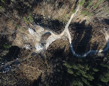 Geodetski načrt novega stanja trase električnega daljnovoda