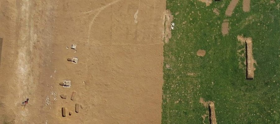 Archaeological heritage from the air