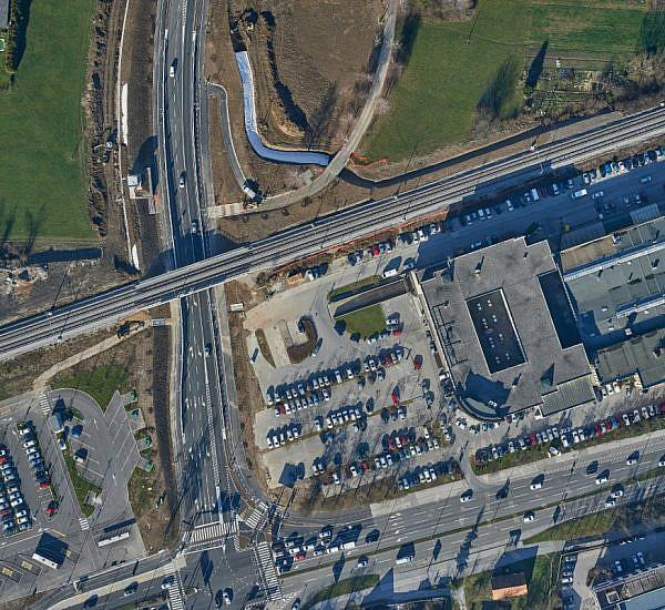 Posodobitev ortofoto mozaika za območje nove prometne povezave na Viču