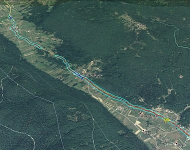 Aerofotografiranje in izdelava ortofoto načrta ceste Kompolje – Pri Cerkvi-Struge