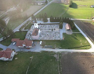 Posodobitev ortofoto načrtov pokopališč v občini Kozje