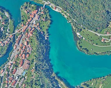 Novi ortofoto načrti za posodobitev rastrskega sloja prostorskega informacijskega sistema občin Tolmin, Kobarid in Bovec