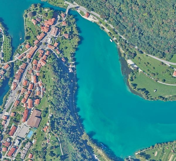 New orthophoto maps for updating the raster layer of the spatial information system of municipalities Tolmin, Kobarid, and Bovec
