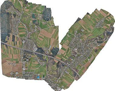 Novi ortofoto načrti za posodobitev rastrskega sloja prostorskega informacijskega sistema mesta Kranj