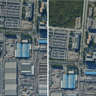 What are the typical causes for anomalies in the overlap of aerial photo stereo pairs?